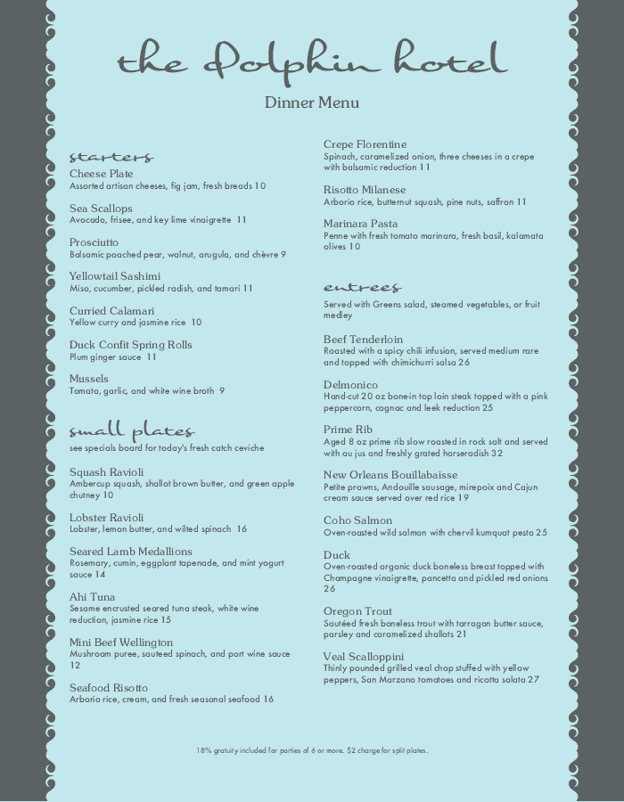 restaurant menu templates with designer style musthavemenus