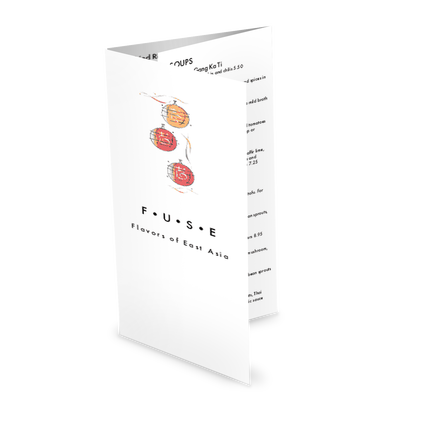 Asian Fusion Takeout Menu Design Templates By Musthavemenus