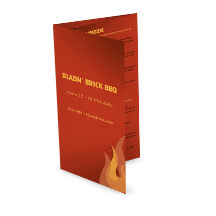 Barbecue Grill Takeout Menu Design Templates By