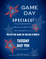 All Star Game Flyer