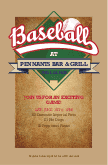 Baseball Season Flyer