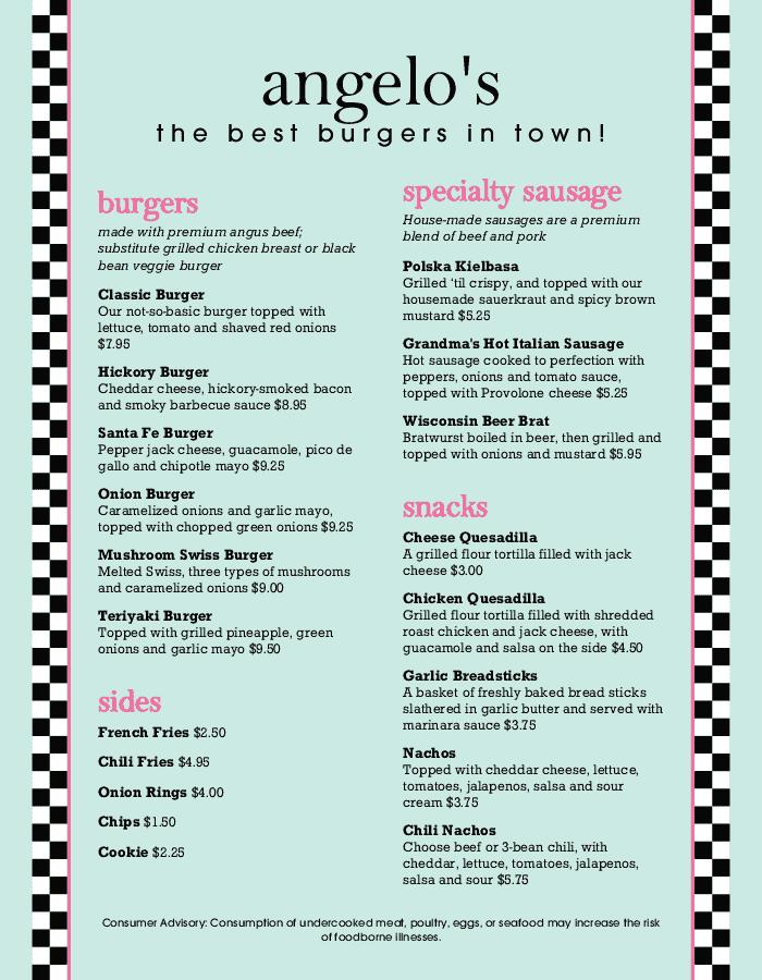 burger menu templates customize now musthavemenus