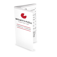 Chicago Pizza Takeout Menu