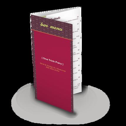 drink specials folding menu design templates by musthavemenus