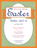 Easter Sunday Flyer