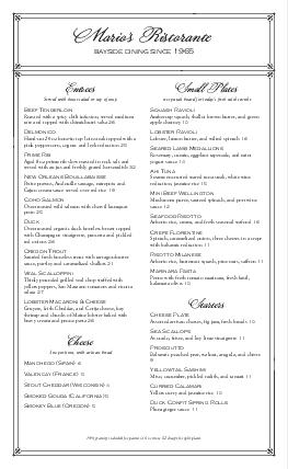 elegant menu long page design templates by musthavemenus
