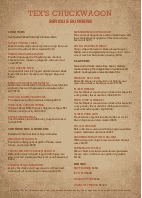 Family Burgers Menu A4