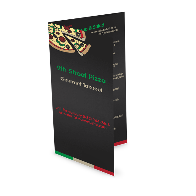 Customize Family Pizza Delivery Menu