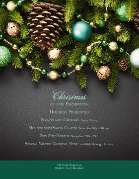 Festive Holiday Flyer