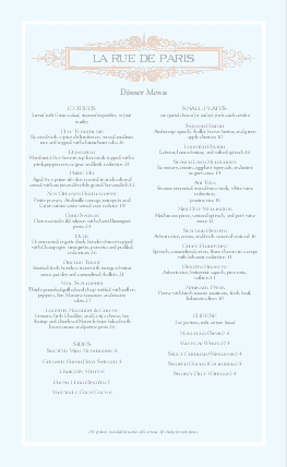 Customize French Menu Long Page 2