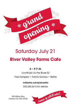 View Grand Opening Flyer