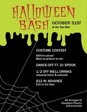 Halloween Party Flyer | Halloween Flyers