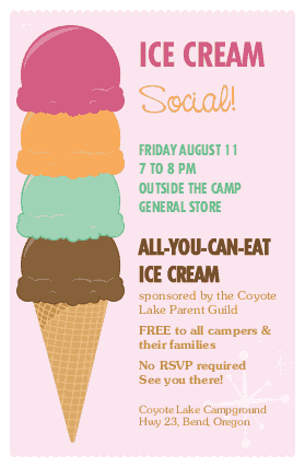 ice cream social flyers mabel mobeetel co