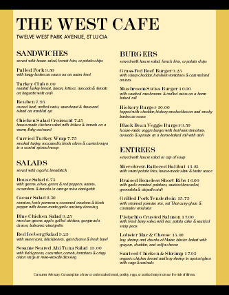 Customize Italian Family Restaurant Menu