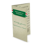 Italian Pizza Takeout Menu