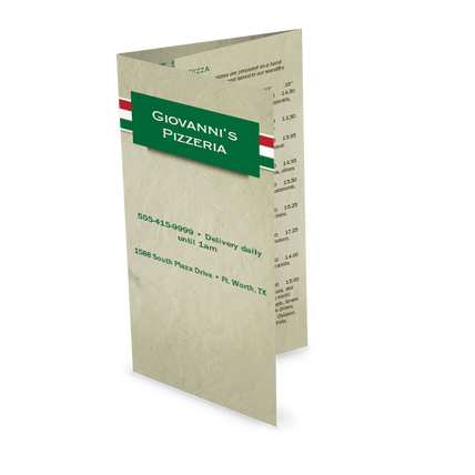 View Italian Pizza Takeout Menu