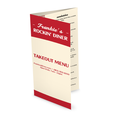 View Local Diner Takeout Menu