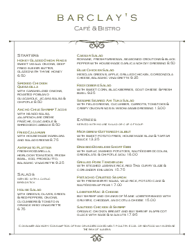 Brunch Market Cafe Menu  Breakfast Menu Template
