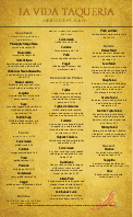Mexican Food Menu Legal