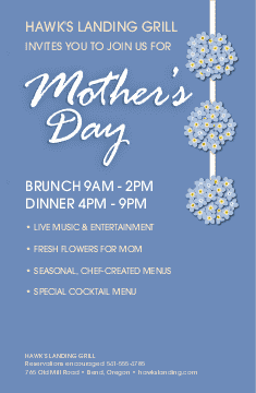 Flyer for Mothers Day