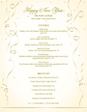 new year s eve menu new year s eve menu template musthavemenus