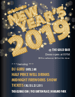Flyer for New Years
