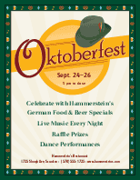 Oktoberfest Beer Flyer