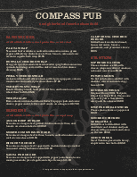 Pub Food Menu