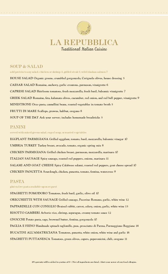 italian menu template designs easy to use musthavemenus