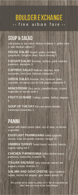 Customize Rustic Wood Specials Menu