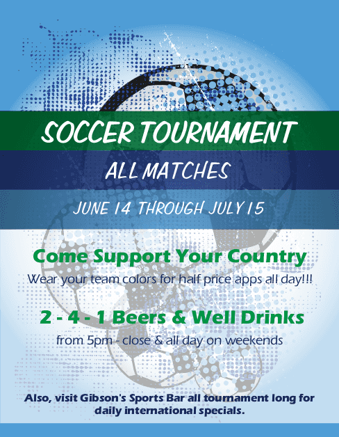 Customize Soccer Promo Flyer