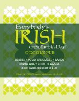 St Patricks Flyer