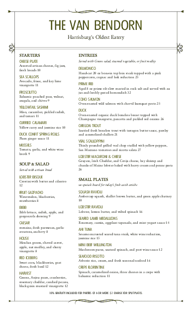 Customize Star Cafe Menu Dining Long