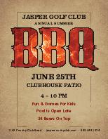 Summer BBQ Flyer