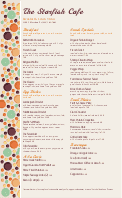 Brunch Menu Long