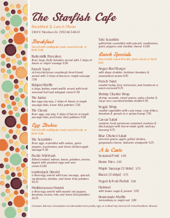 brunch menu design templates by musthavemenus