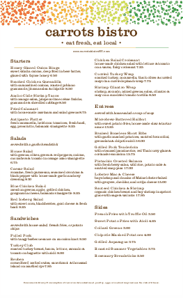 Customize Veggie Menu Long Page